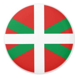 Flag of the Basque Country Ceramic Knob
