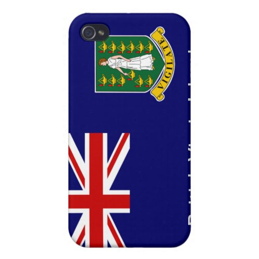 Flag of the British Virgin Islands iPhone 4/4S Cover