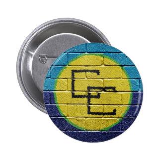 Flag of the Caribbean Community 6 Cm Round Badge