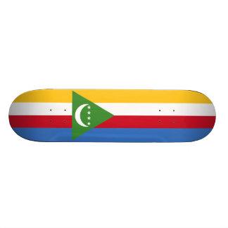 Flag of the Comoros Skateboard Deck