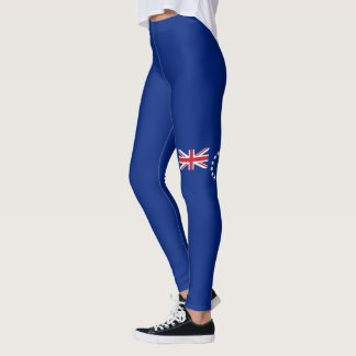 Flag of the Cook Islands Leggings