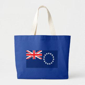 Flag of the Cook Islands Jumbo Tote Bag
