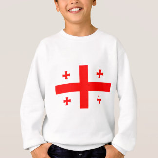Flag Of The Country Of Georgia Sweatshirt