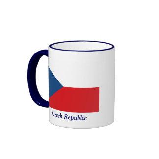 Flag of the Czech Republic Ringer Mug