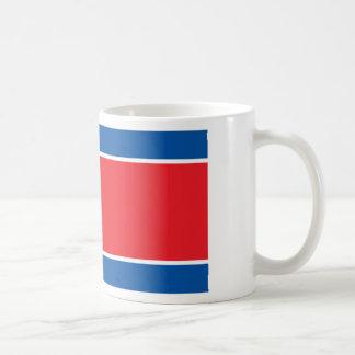 Flag of the Democratic People's Republic of Korea Basic White Mug