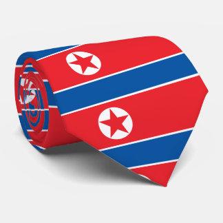 Flag of the Democratic People's Republic of Korea Tie