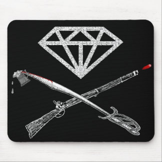 """Flag of the """"Diamond's Rule"""" Mouse Pad"""