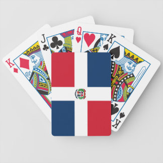 Flag of the Dominican Republic Bicycle Playing Cards