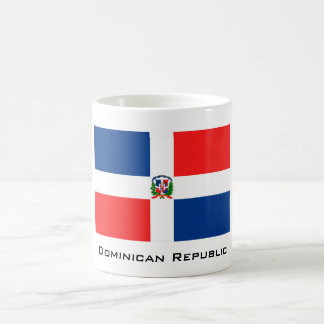 Flag of the Dominican Republic Basic White Mug