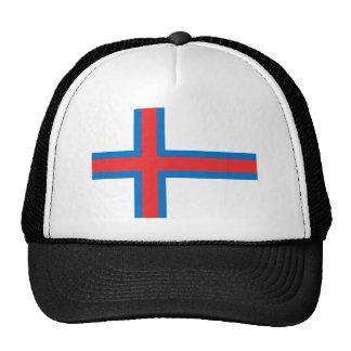 Flag of The Faroe Islands Mesh Hats
