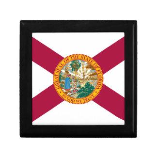 FLAG OF THE FLÓRIDA SMALL SQUARE GIFT BOX