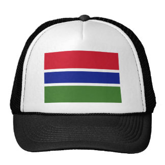 Flag of the Gambia Trucker Hat