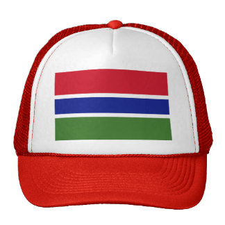 Flag of The Gambia Mesh Hats