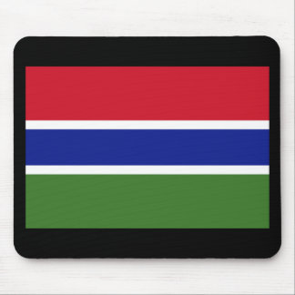 Flag of The Gambia Mousepad