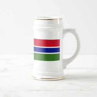 Flag of The Gambia Coffee Mugs