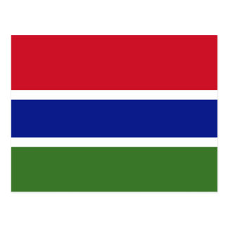 Flag of the Gambia Postcard