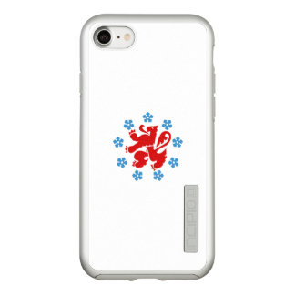 Flag of the German Community Silver iPhone Case