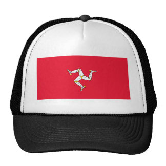 Flag of The Isle of Man Trucker Hat