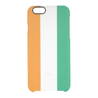 Flag of the Ivory Coast Clear iPhone Case