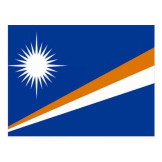 Flag of the Marshall Islands Postcard
