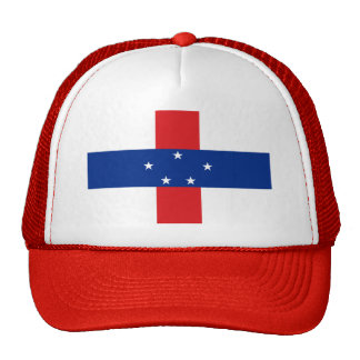 Flag of The Netherlands Antilles Hats