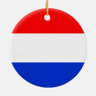 Flag of the Netherlands Christmas Ornament