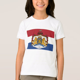 Flag of The Netherlands Coat of Arms Kid's T-Shirt