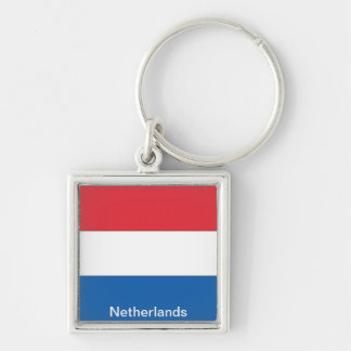 Flag of the Netherlands Key Chain
