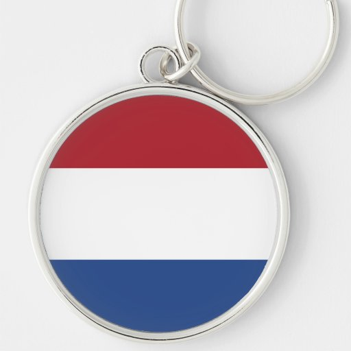 Flag of the Netherlands Key Chains