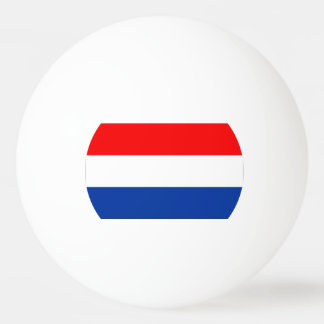 Flag of The Netherlands Ping Pong Ball