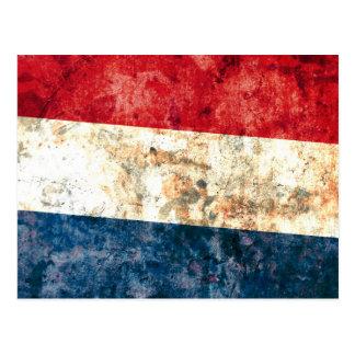 Flag of the Netherlands Postcard