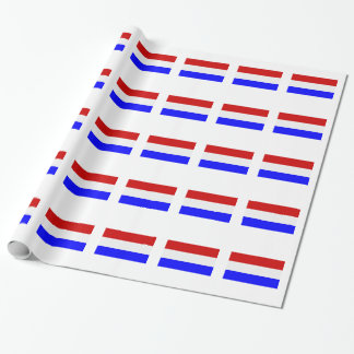 Flag of the Netherlands Wrapping Paper