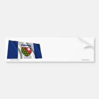 Flag of the Northwest Territories, Canada Car Bumper Sticker