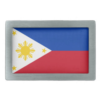 Flag of the Philippines Belt Buckle