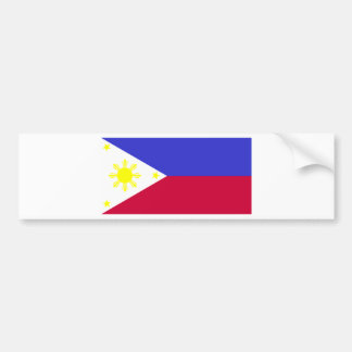 Flag of the Philippines Bumper Sticker