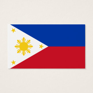 Flag of the Philippines Business Cards