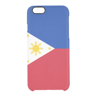 Flag of the Philippines Clear iPhone Case
