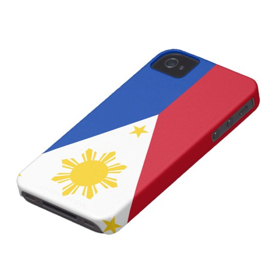 Flag of the Philippines iPhone 4 Case-Mate Case