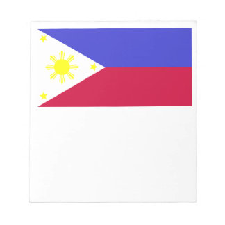 Flag of the Philippines Notepad