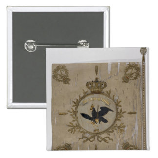 Flag of the Prussian Infantry 15 Cm Square Badge