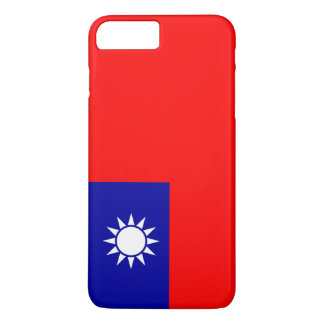 Flag of the Republic of China Taiwan iPhone 7 Plus Case