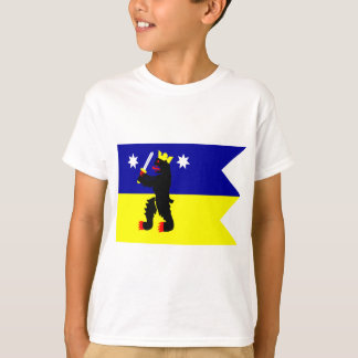 Flag of the Satakunta Region in Finland T-Shirt