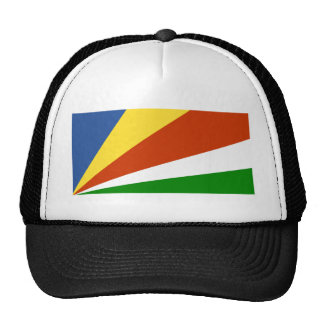 Flag of the Seychelles Cap