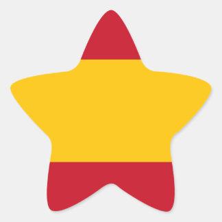 Flag of the Spain Sticker (Star)