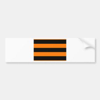 Flag of the St George Ribbon - Георгиевская лента Bumper Sticker