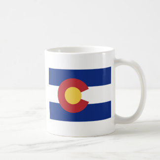 Flag of the State of Colorado Coffee Mug