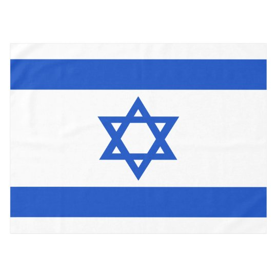 Flag of the State of Israel Tablecloth