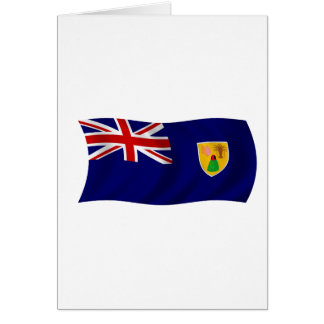 Flag of the Turks and Caicos Islands Cards