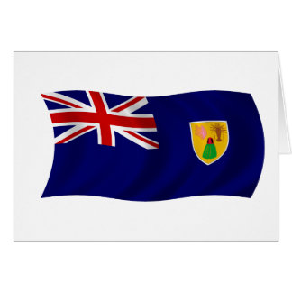 Flag of the Turks and Caicos Islands Greeting Cards