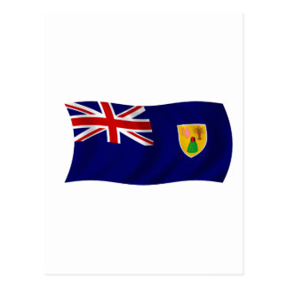 Flag of the Turks and Caicos Islands Post Cards